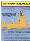 CSI - DL-4400 - Classic Slasher Saw Brochure