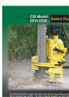 Model DFH-3526 - Grapple Felling Saw Head Brochure