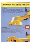 Model DT-2600 - Delimber Trailer Brochure