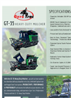 Model GT-35 - Heavy Duty Mulcher Brochure