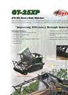 Model GT-25 XP - Heavy Duty Mulcher Brochure