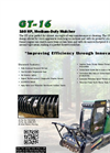 Model GT-16 - Medium Duty Mulcher- Brochure