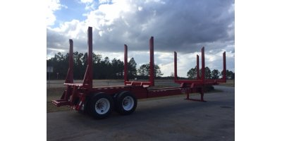 Standard Drop Center Log Trailers