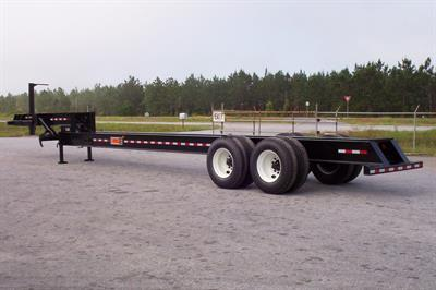 Delimber Loader Trailer
