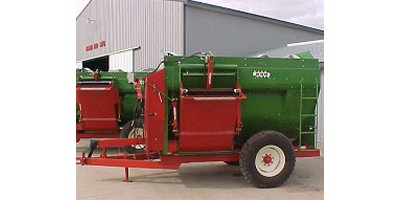 Model 250 - Left-Hand Discharge Heavy Duty Mixers