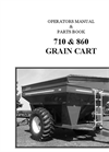 Model 710 & 860 - Grain Cart Manual