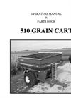 Model 510 - Grain Cart Manual