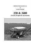 Model 230 & 3400 Gravity Wagons & Accessories Manual
