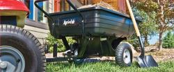 Model 350 LB - 2014 Agri-Fab Convertible Poly Dump Cart