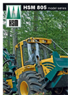 Kombi Short - Model HSM 805F - Combination Forwarder Brochure