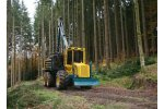 Model HSM 208F 6WD 10t - Forwarder