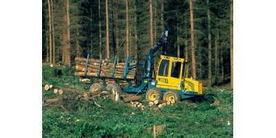 Model HSM 208F 9 t - Forwarder