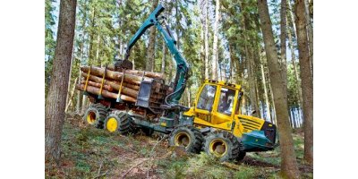 Model HSM 208F 6WD 12t - Forwarder