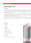 SLA - Hopper Bottom Silos Brochure