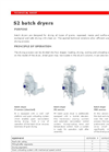 S2 - Batch Dryers Brochure