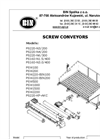 Screw Auger Coneyors Type PS and PSW- Brochure