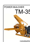 Model TM-35 - Power Mulchers Brochure