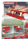 Model U006 BIS - Mounted Plough Brochure
