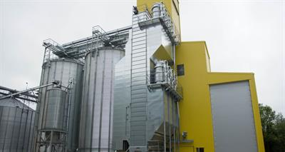 Tornum - Model TK - Continuous Mixed Flow Grain Dryer