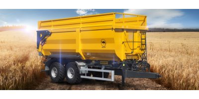 Model PRC-2HP/W18R - Half Pipe Tipper Trailers