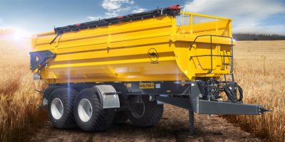 Model PRC-2HP/W18RN - Half Pipe Tipper Trailers
