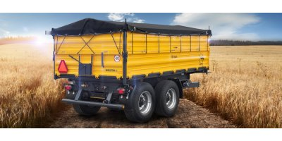 Model PRC-2/W10 - Tandem Axle 3 Side Tipper Agricultural Trailer