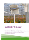Model PT - Precise Plant Temperature Sensor Brochure