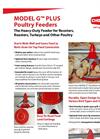 Model G - Poultry Feeder Brochure