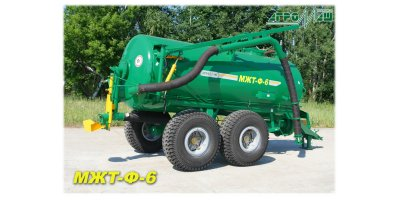 Model MJT-F-6 - Slurry Tanker