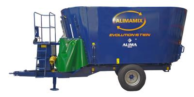 Evolution - Double Augers Diet Mixers