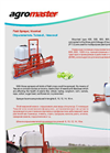 Agromaster - Model 400,500, 600, 800 and 1000 L - Field Sprayer Brochure
