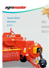 Model Z-511 - Square Baler Brochure