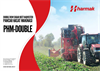 Harmak - Model PHM Double - Double Row Sugar Beet Harvester - Datasheet