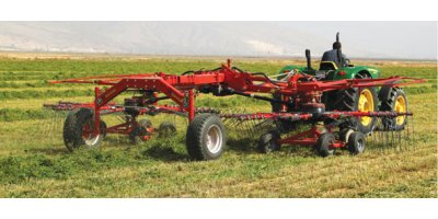Harmak - Model HT700 - Double Rotary Hay Rake