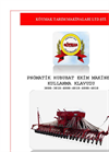 Model 4000 - 32 Row Pneumatic Grain Planting Machine with Fertilizer Reservoir Brochure