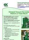 Seed Vacuum Harvester Brochure