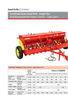 Model AGS - Single Disc Combined Grain Seed Drill Brochure