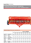 Model AGS-D - Double Disc Combined Grain Seed Drill Brochure