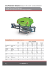 Volga Mounted Field Sprayer - Brochure