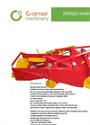 One Row Potato Harvester Machine Brochure