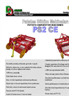 Model PS2 CE - Two Rows Potato Harvester Machine with Complete Sieve System Brochure