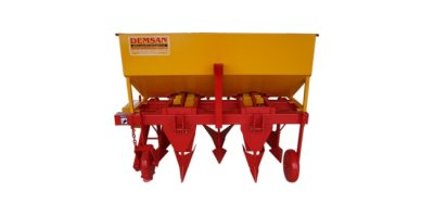 Model PD2 CK  - Manual Two Rows Potato Planter Machine with Double Cup System