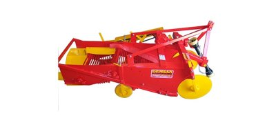 Model PS1 BS - One Row Potato Harvester Machine with Double Band System