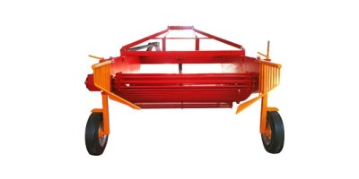 Model HS2 - Two Rows Turnip Carrot Harvester Machine with Complete Pallet System