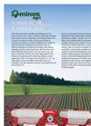 Minos Agri - Pneumatic Seed Drill Brochure