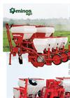 Minos Agri - Pneumatic Seed Drill Datasheet