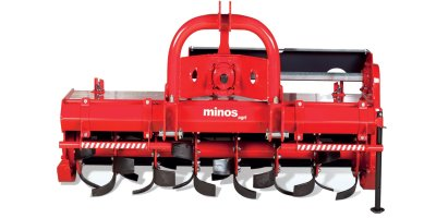 Minos Agri - Mechanical Side Shifting Rotary Tiller