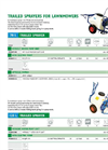 Model 70L - 2 Wheel Trailed Sprayer Brochure