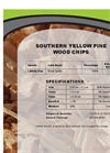 Wood Chips - Pine Softwood Chips Specification Sheet