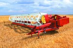 PALESSE - Model CT - Swath Grain Headers